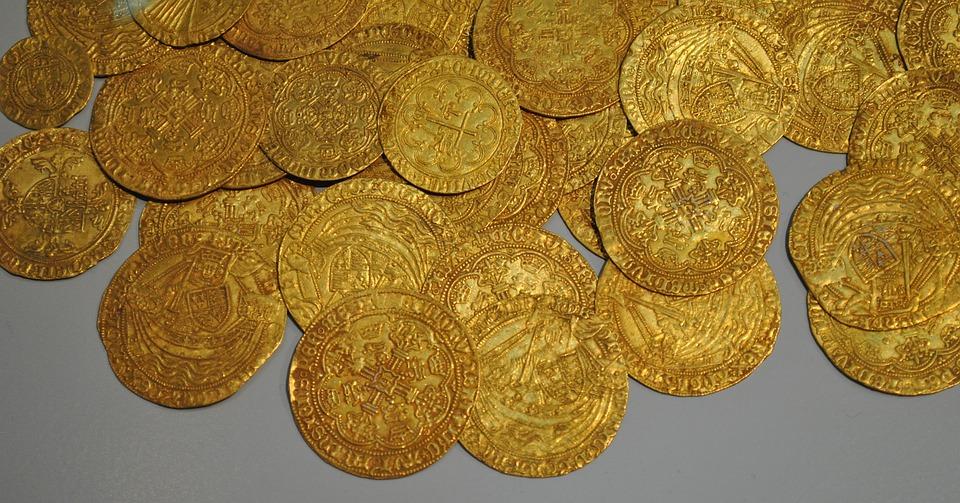 nosotros somos monedas de oro